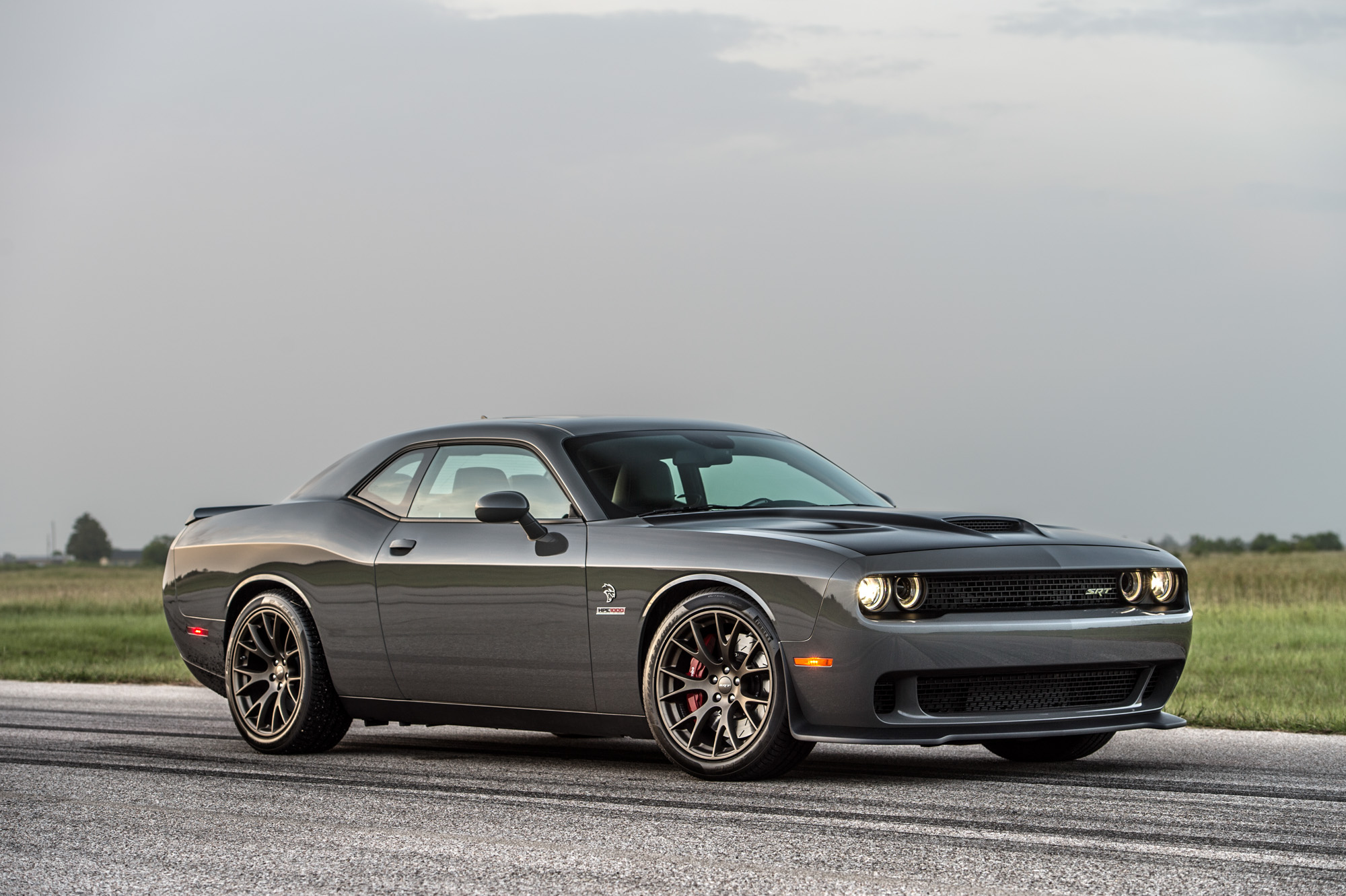 Hellcat Hpe Grey Challenger on 4 9 Cadillac Engine Performance